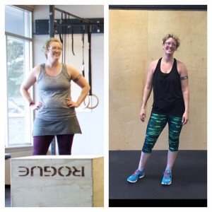 Aubry is killing it in the gym. Her transformation is nothing short of inspiring.